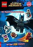 LEGO DC Comics Superhelden. Ein Superhelden-Rätselspaß - Mit über 200 Stickern: Rätsel-Stickerbuch