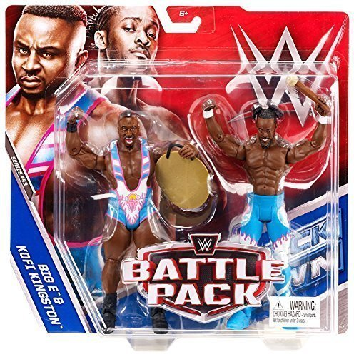 WWE Kampf Pack: Serie 43 Aktion Figuren The New Day) Big E & Kofi Kingston (Wwe Figuren Big Pack)
