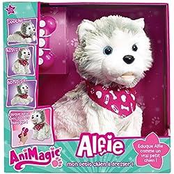 AniMagic - Alfie, perrito de peluche interactivo (31157)