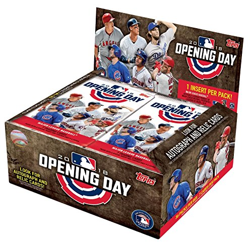 2018 Topps Opening Day Baseball Hobby Box - Baseball-karten Topps