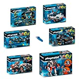 PLAYMOBIL 9250_55-5159 Top Agents Set 1 - 7er Set - 9250 + 9251 + 9252 + 9253 + 9254 + 9255 + 5159