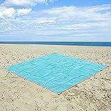 hailicare arena libre alfombrilla de playa manta de Picnic alfombra–arena, suciedad y polvo disapper.–secado rápido, fácil de limpiar perfecto para la playa, Picnic, Camping, eventos al aire libre