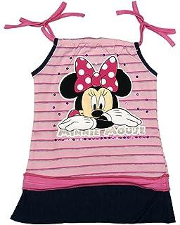 Disney Baby M/ädchen Minnie Mouse FEST-Freizeit-Kleid Sommerkleid in Gr 80 86 92 98 104 110 116 122 Baumwolle Bluemnm/ädchen Outfit Strand-Kleid Farbe Modell 9