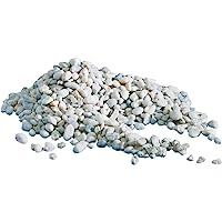 AMTRA GHIAIA NOA, ghiaia naturale dell'acquario, pavimento decorativo, grani grossolani bianchi dimensioni 4-8 mm…
