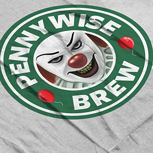Pennywise Brew Starbucks Coffee Design IT Women's Vest Heather Grey