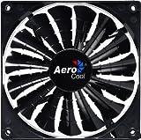 AeroCool Shark Fan Black Edition 14cm–Lüfter, refoidisseurs und Heizkörper (PC-Gehäuse, Lüfter, 14cm, 29,6DB, 100000h, schwarz)