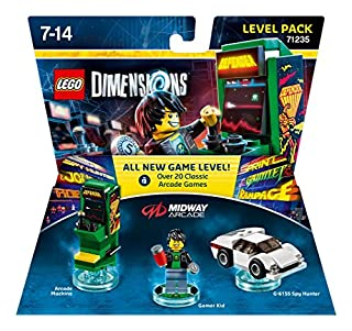Figurine 'Lego Dimensions' - Gamer Retro Arcade : Level Pack (B0156C0FS8) | Amazon price tracker / tracking, Amazon price history charts, Amazon price watches, Amazon price drop alerts