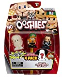 Ooshies WWE 4 Pack Mix 1 - Wave 1