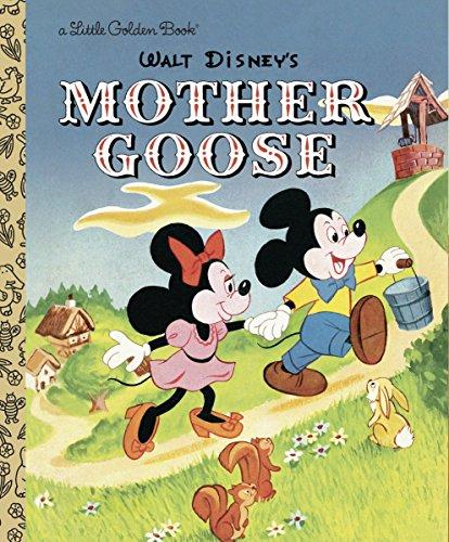 Mother Goose (Disney Classic) (Little Golden Books)