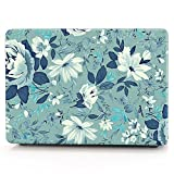 13.3 pro inch macbook case,beautiful jasmine flower hard PC slim ultra-thin macbook shell cover case DIGIC high protection anti drop macbook case for 13 pro inch laptop (A1278) (jasmine flower)