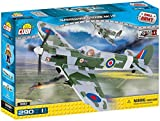 Cobi 5512 - Supermarine Spitfire Mk. V B, Konstruktionsspielzeug, grün