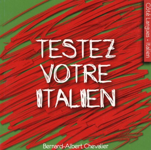 Testez votre italien