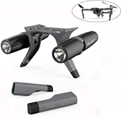 Landing Gear Extension LED Headlamp Set for DJI MAVIC PRO Accessories Kit Height Extender Leg Holder and Searching Led Lamp