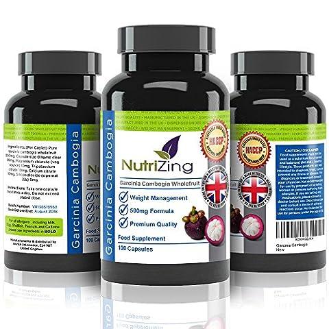 ★ NutriZing Garcinia Cambogia ~ 100% Pure & Natural Formula