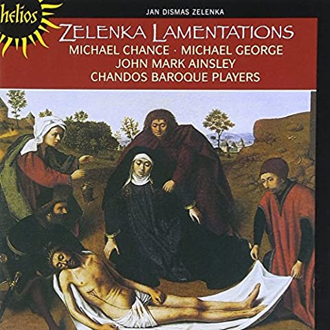 Lamentations de Jérémie / Michael Chance, contreténor - John Mark