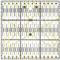 demiawaking 15x 15cm acrílico Quilting Patchwork Regla cuadrada para patchwork de costura DIY Craft