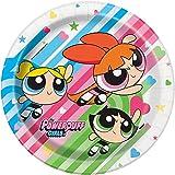 Powerpuff Girls 9 Inch Dinner Plates [8 per Pack]