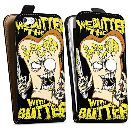 Apple iPhone X Silikon Hülle Case Schutzhülle We Butter The Bread With Butter Fanartikel Merchandise Deathcore Downflip Tasche schwarz