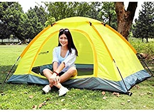 Emndr Picnic Camping Portable Waterproof Tent for 6 Person