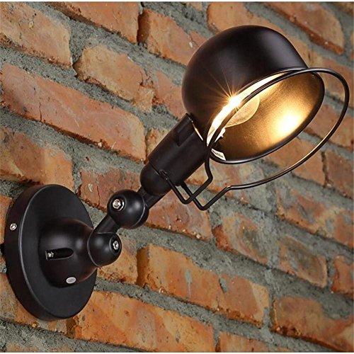 H&M Amerikanische Retro industrielle Wind-Maschine Hand-Wand-Lampe Antike Bar Bar Counter-Gang Outdoor-Lampe Schlafzimmer Nachttischlampe