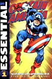 Essential Captain America: v. 1 (Essential (Marvel Comics))