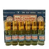 Duftöl Sri Sai Baba Nag Champa 6er Pack 3ml Aroma