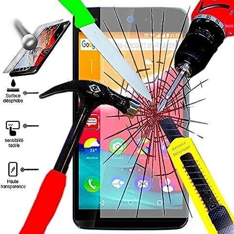 Access-Discount Accessoire de protection Film En verre trempe Protecteur avant durci pour le Smartphone Microsoft Nokia Lumia 640 LTE/ 640 LTE Dual SIM/ 640 Dual