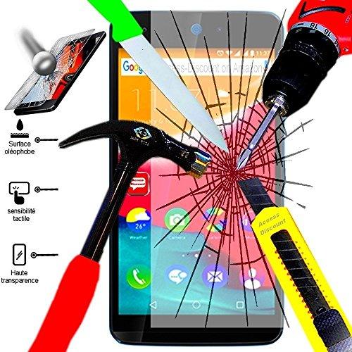 Access-Discount Accessoire de protection Film En verre trempe Protecteur avant durci pour le Smartphone Microsoft Nokia Lumia 640 LTE/ 640 LTE Dual SIM/ 640 Dual SIM