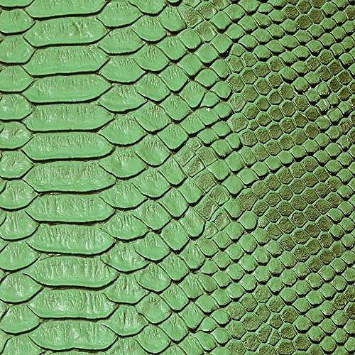 Faux Viper Sopythana Snake Skin Vinyl Fabric - Sold By The Yard - 52 by fashionfabricsla