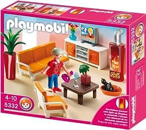 Playmobil 5332 behagliches wohnzimmer spielzeug - Playmobil wohnzimmer 5332 ...