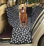 Black Manba Coprisedili per Auto Coprisedili per Cani Sedili Posteriori Amaca per Animali Domestici Tappetino per Gatti Impermeabile Nero da Viaggio,A