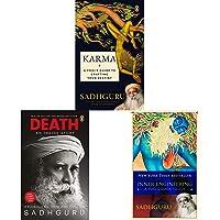 Karma + Death + Inner Enginnering (Set of 3 Books)
