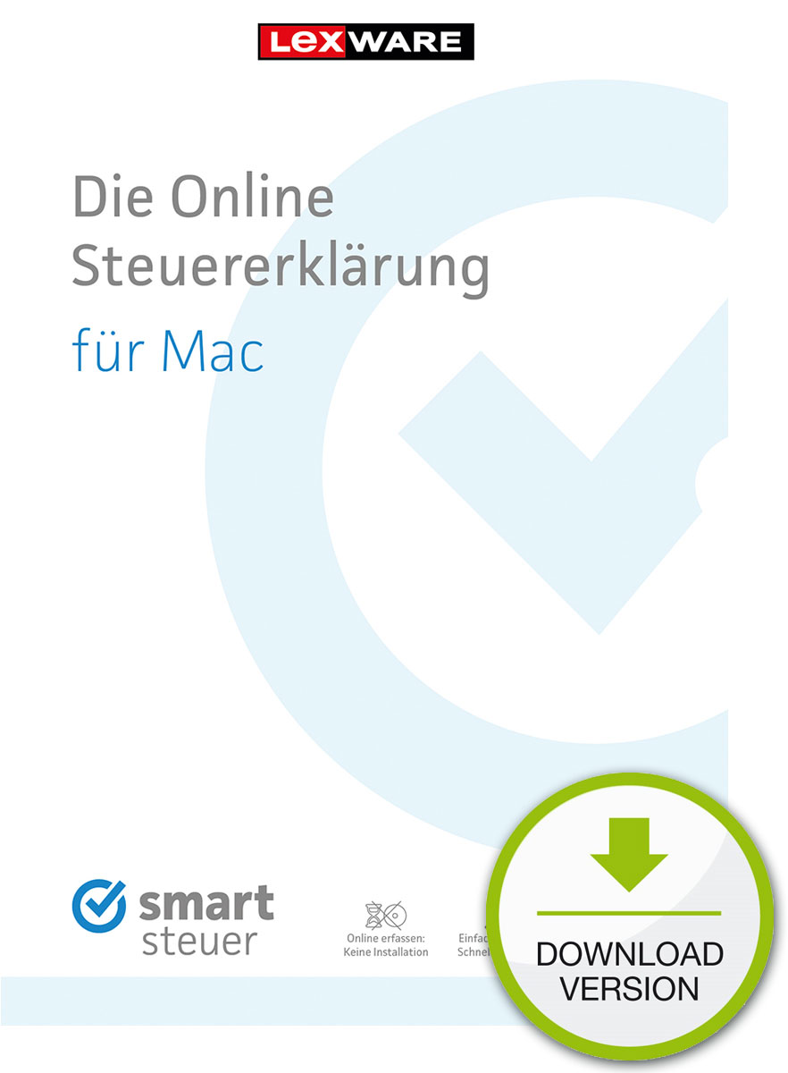 Preisvergleich Produktbild smartsteuer Pro 2017 (Mac) Download [Online Code]