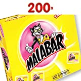 Malabar Tutti Frutti et Tattoos 200 Stck. Packung (Kaugummi Tutti Frutti)