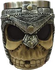 3D Stainless Steel Skull Cup Skull Mug Skull Coffee Cup Ghost Head Cup