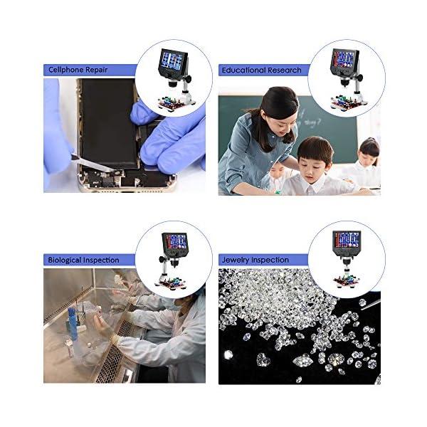 KKmoon Digital LCD Display Electronic Microscope