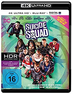 Suicide Squad inkl. Blu-ray Extended Cut (4K Ultra HD + 2D-Blu-ray) (2-Disc Version) [Blu-ray]