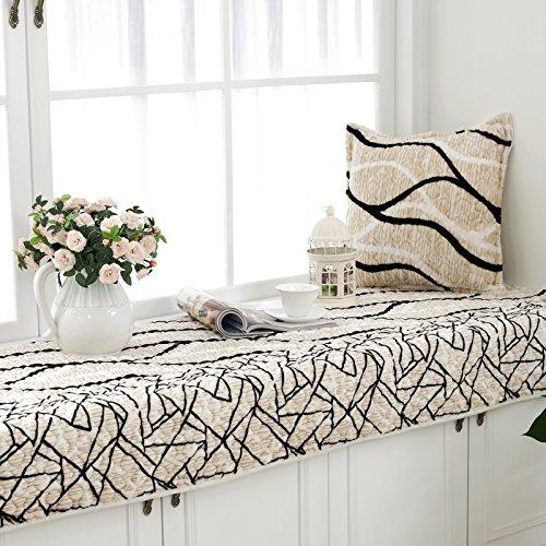 new-day-striped-plush-floating-window-mat-pad-cloth-fashion-anti-skid-window-sill-cushion-simple-mod