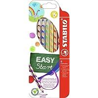 Ergonomischer 331/6 Buntstift für Linkshänder - STABILO EASYcolors - 6er Pack - mit 6 verschiedenen Farben