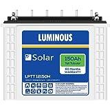 Luminous LPTT12150H 150Ah Solar Tall Tubular Battery (60Months)