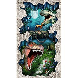 LWCX Primitivo Dinosaur Photo Custom Wall Mural 3D Wallpaper Wear Antideslizante Impermeable 352X250CM