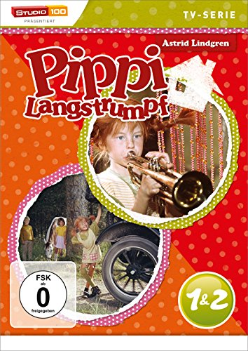Pippi Langstrumpf - TV-Serie, DVD 1 & 2