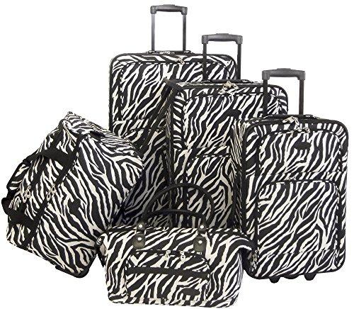 american-flyer-luggage-animal-print-5-piece-set-zebra-black-one-size