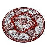 Dyl Alfombras Redondas Cojines de los Asientos de la casa Dormitorio del hogar Sala de Estar Junto a la Cama alfombras Que cuelgan sillas Que cuelgan cestas (Color : DIAMETER100CM)