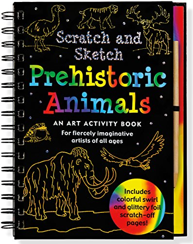Prehistoric Animals Scratch & Sketch