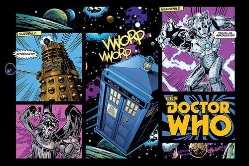 Empire Merchandising 654 519 Doctor Who serie di layout Comic Movie Posters TV Inghilterra Fantasy Sci Fi Fantascienza 91.5 x 61 cm