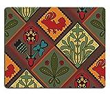 luxlady Gaming Mousepad Bild-ID: 33533250Italienisches Contry Fliesen Muster Mittelalter Muster colorful Fliesen Country Style für eine Küche