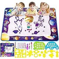 Smarkids Acqua Doodle Tappeto, Tappeto Magico Bambini 100*70cm Tappeto Acqua Doodle Tappeto Magico Colorati Acqua…