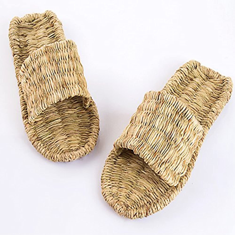 @Sandals Fatti A Mano Mano Mano Di Anestesia Generale Pantofole, Estate Paglia Intrecciata Scarpe, Versione Coreana, Tempo...   Prezzo Moderato  abdf20