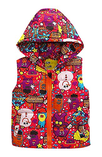 zamot-kids-various-multicolor-patterns-zip-up-quilted-thick-hooded-puff-vest-red-3-yrs